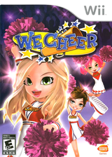 We Cheer Wii cover (RCHEAF)