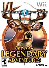Cabela's Legendary Adventures Wii cover (RCUE52)