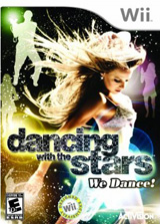Dancing with the Stars: We Dance! Wii cover (RDAE52)
