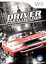 Driver: Parallel Lines Wii cover (RDVE41)