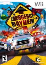 Emergency Mayhem Wii cover (REGE36)