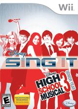 Disney Sing It: High School Musical 3 Senior Year Wii cover (REYE4Q)