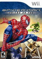 Spider-Man: Friend or Foe Wii cover (RFOE52)