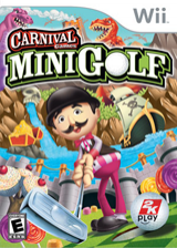 Carnival Games: Mini Golf Wii cover (RG9E54)
