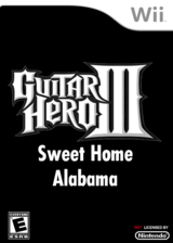 Sweet Home Alabama - GH3 CUSTOM cover (RGHE62)