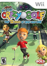 Kidz Sports: Crazy Golf Wii cover (RGKENR)