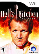 Hell's Kitchen: The Video Game Wii cover (RH2E41)