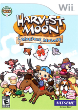 Harvest Moon: Magical Melody Wii cover (RHMEE9)