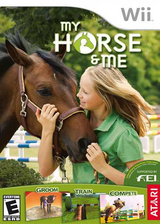 My Horse & Me Wii cover (RHNE70)