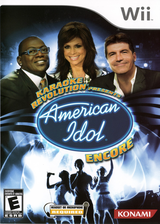 Karaoke Revolution Presents: American Idol Encore Wii cover (RIEEA4)