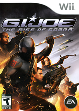 G.I. JOE: The Rise of Cobra Wii cover (RIJE69)