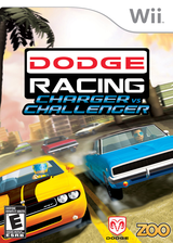 Dodge Racing: Charger vs. Challenger Wii cover (RIXE20)