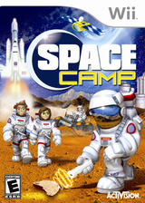 Space Camp Wii cover (RIYE52)