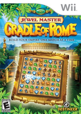 Jewel Master: Cradle of Rome Wii cover (RJ4ENR)