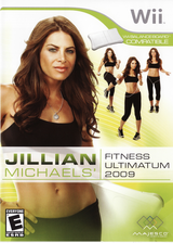 Jillian Michaels' Fitness Ultimatum 2009 Wii cover (RJFE5G)