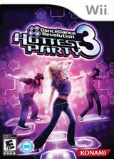 Dance Dance Revolution: Hottest Party 3 Wii cover (RJREA4)