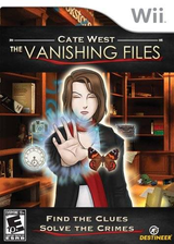 Cate West: The Vanishing Files Wii cover (RKEENR)