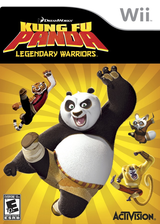 Kung Fu Panda: Legendary Warriors Wii cover (RKHE52)
