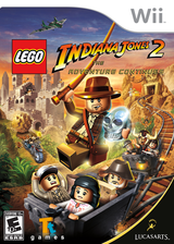 LEGO Indiana Jones 2: The Adventure Continues Wii cover (RL4E64)