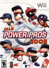 MLB Power Pros 2008 Wii cover (RL8E54)