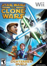 Star Wars The Clone Wars: Lightsaber Duels Wii cover (RLFE64)