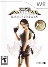 Tomb Raider: Anniversary Wii cover (RLRE4F)