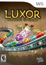 Luxor: Pharaoh's Challenge Wii cover (RLXEMJ)