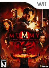 The Mummy: Tomb of the Dragon Emperor Wii cover (RM5E7D)