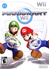 Mario Kart Wii Wii cover (RMCE01)