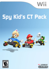 SpyKid's CT Pack CUSTOM cover (RMCE77)