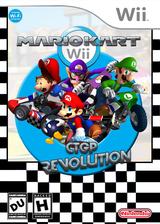 Mario Kart Wii CTGP Revolution CUSTOM cover (RMCEGP)