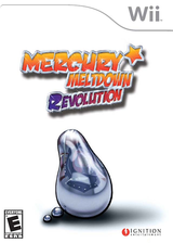 Mercury Meltdown Revolution Wii cover (RMME7U)