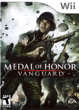 Medal of Honor: Vanguard Wii cover (RMVE69)