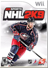 NHL 2K9 Wii cover (RNLE54)