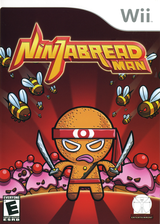Ninjabread Man Wii cover (RNME5Z)