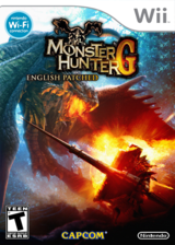 Monster Hunter G (English Patched) CUSTOM cover (ROMESD)
