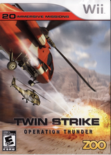 Twin Strike: Operation Thunder Wii cover (ROTE20)