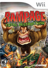 Rampage: Total Destruction Wii cover (RPGE5D)