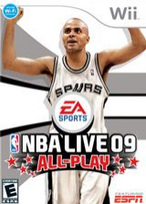 NBA Live 09 All-Play Wii cover (RQ9E69)