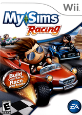 MySims Racing Wii cover (RQGE69)