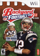 Backyard Football '09 Wii cover (RQQE70)