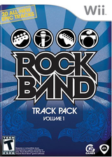 Rock Band Track Pack: Vol. 1 Wii cover (RREE69)
