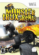Monster Trux Arenas: Special Edition Wii cover (RRXE5Z)