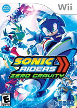 Sonic Riders: Zero Gravity Wii cover (RS9E8P)