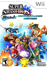 Super Smash Bros. Brawl: Water Block Edition CUSTOM cover (RSBE49)
