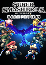 Super Smash Bros. Ultimate Dark Phoenix: Tournament Edition CUSTOM cover (RSBEDT)