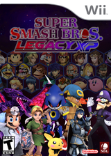 Super Smash Bros. Legacy XP CUSTOM cover (RSBEXP)