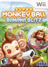 Super Monkey Ball: Banana Blitz Wii cover (RSME8P)