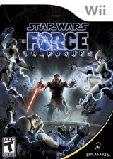 Star Wars: The Force Unleashed Wii cover (RSTE64)