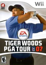 Tiger Woods PGA Tour 07 Wii cover (RT7E69)